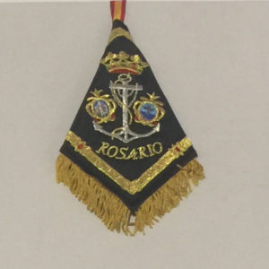 mini banderin rosario de cadiz